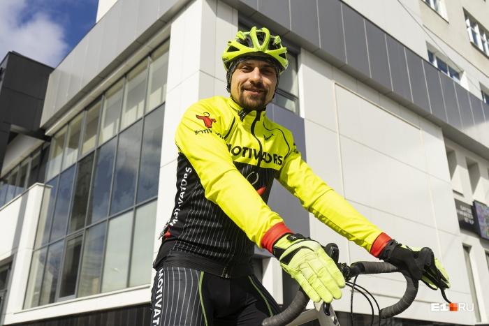 Александр Москаленко в апреле отправится в велопутешествие длиной 5000 километров