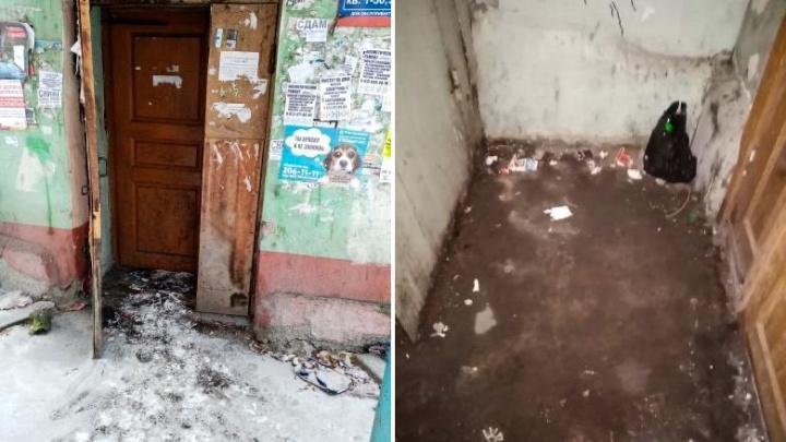 «В подвале воды по колено»: жители дома на Калинина жалуются на условия жизни
