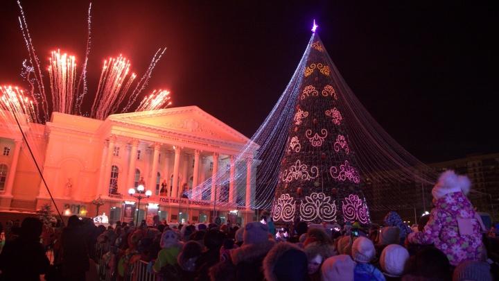 Главная ёлка Тюмени откроется раньше. Организаторы объяснили, почему перенесли праздник