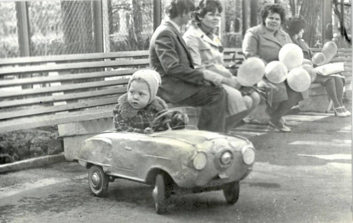 О такой машинке мечтал каждый советский малыш