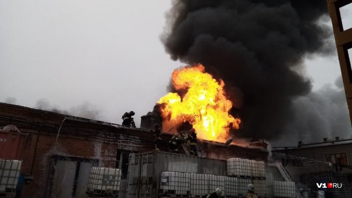 «Ущерб не считали»: в компании тёзки начальника академии МВД рассказали о пожаре на складе
