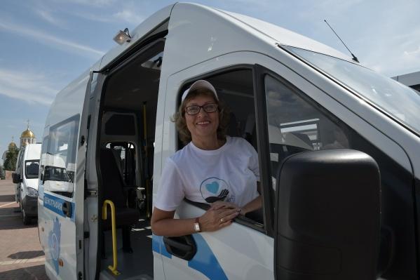 Транспорт для пожилых уже доставили в регион