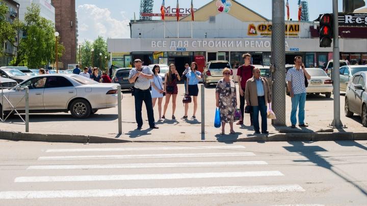 Пешеходы победили: на улице Гоголя пропало ограждение, которое перекрывало «зебру»