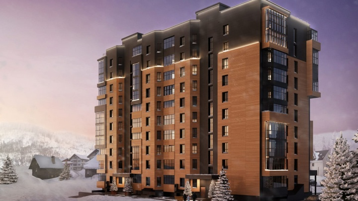 В Шерегеше строят 11-этажное здание с панорамным видом: что там будет и как на этом заработать