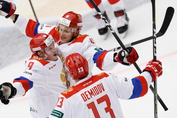 Николай Демидов сыграет в матчах против команд Швеции, Финляндии и Чехии