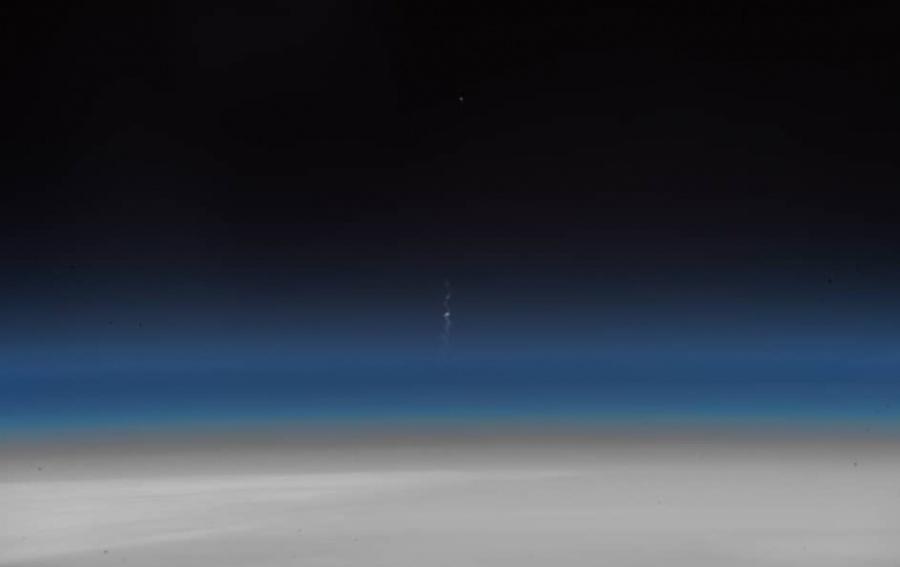 Трагедию ракеты своронежским агрегатом показали изкосмоса