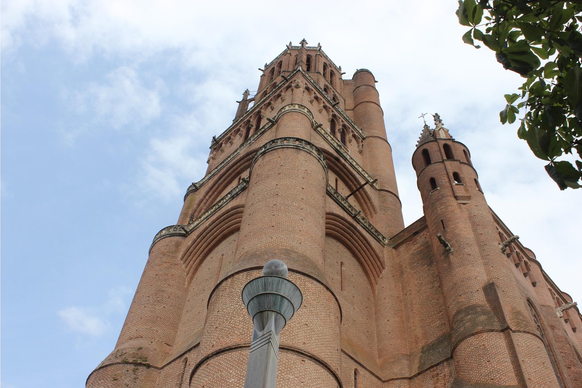 Башня собора Сен-Сесиль в Альби