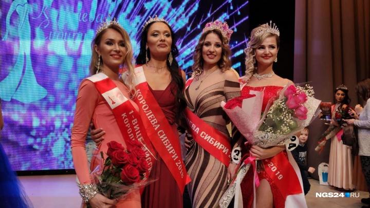 Эффектная мама двоих детей из Красноярска получила титул «Королева Сибири»