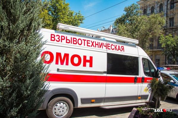 Взрывотехники обыскали помещение банка