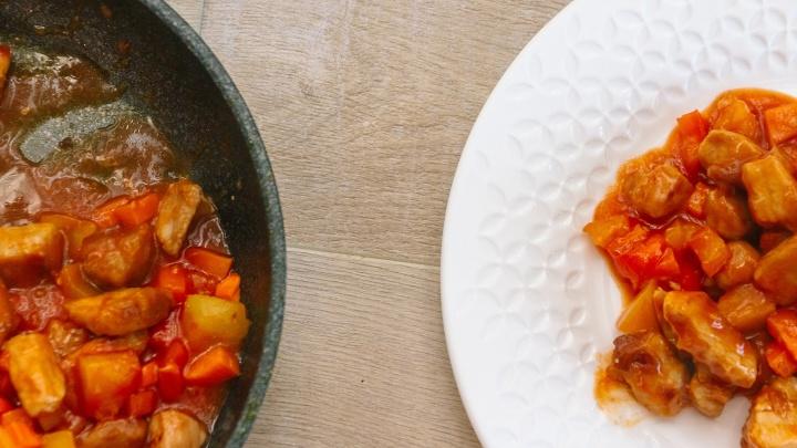 Как приготовить мясо в кисло-сладком соусе