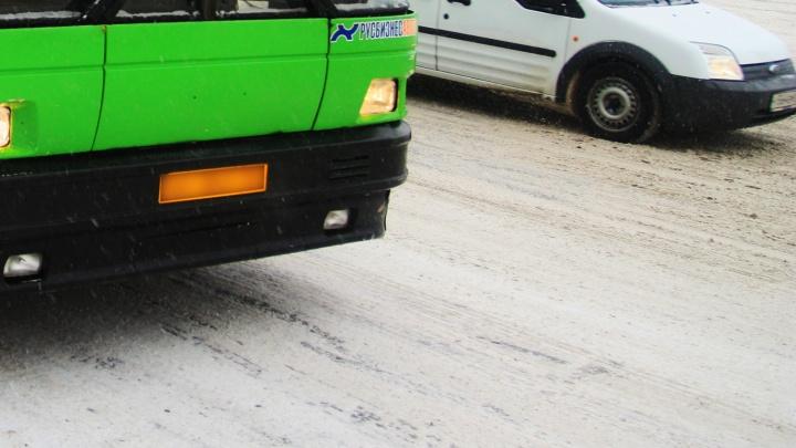 Автобус насмерть сбил женщину на Первомайке