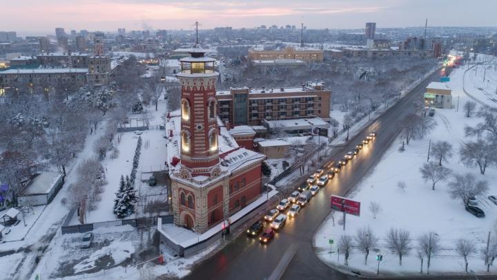 Затишье перед «бурей»: Волгоград накануне Рождества отдохнет от ветра и снегопадов
