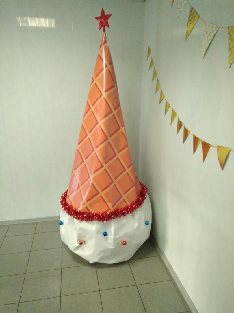 Ёлка-мороженое от производителя мороженого «Хладокомбинат №3»