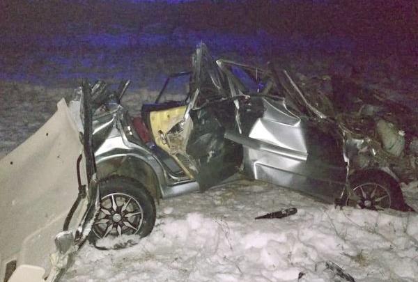 В Башкирии улетел в кювет ВАЗ-2114: один человек погиб и четверо пострадали