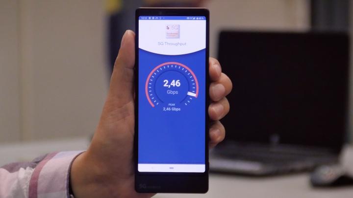 МегаФон показал рекордные скорости 5G в России