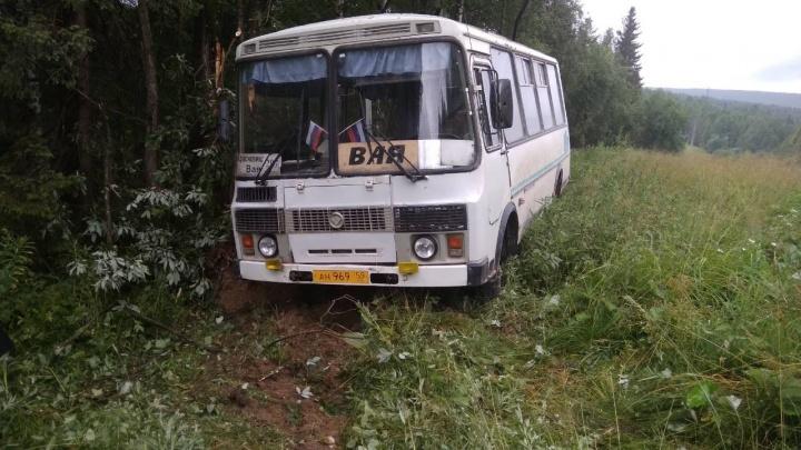 «Он уже выработал свой ресурс»: автозавод — о ДТП в Прикамье, когда автобус с людьми улетел в кювет