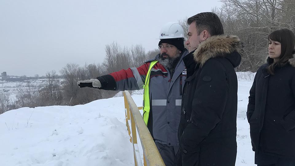 Главному федеральному инспектору Челябинской области Сергею Мореву представили план ликвидации Коркинского угольного разреза
