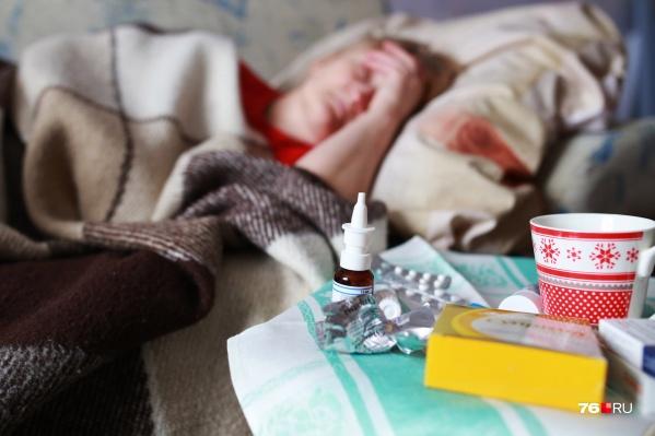 Эпидемический порог по гриппу и ОРВИ в Ярославле превышен на 10%