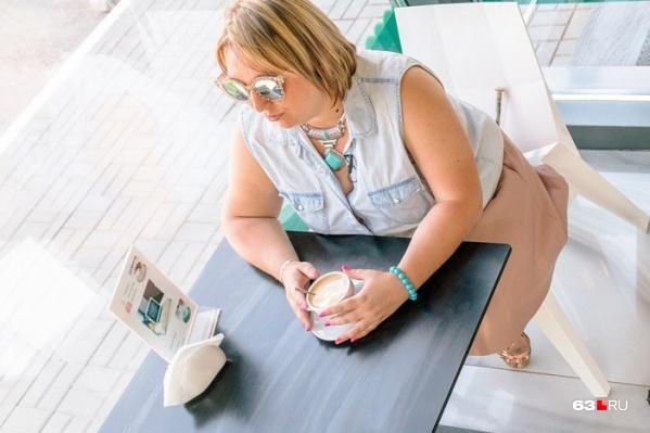 Самарцы не упускают возможности насладиться бодрящим напитком в кафешке