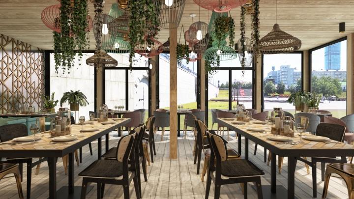 Владелец Killfish откроет на Плотинке под лестницей ночной клуб с караоке и рестораном