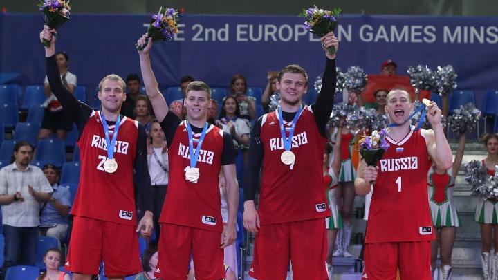 Новосибирский баскетболист стал чемпионом Европейских игр