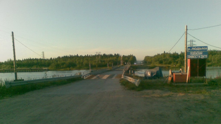 «Для ремонта опор»: проезд по мосту через Лодьму закроют на два дня