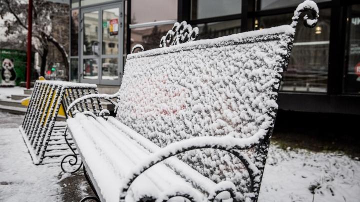 К Новосибирску подходят морозы до –13 градусов
