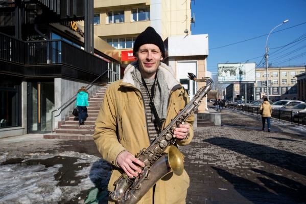 Глеб играет на саксофоне уже 5 лет