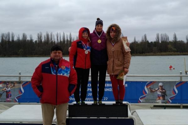 Серебряная медаль в Краснодаре была получена за гонку на 5000 метров