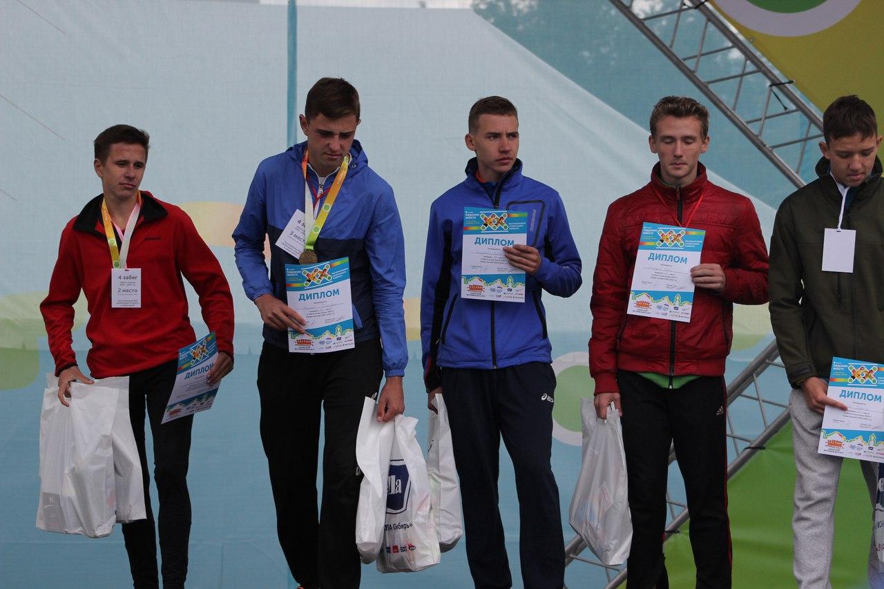 Награждение юношей на дистанции 3,6 км. Фото Стаса Соколова