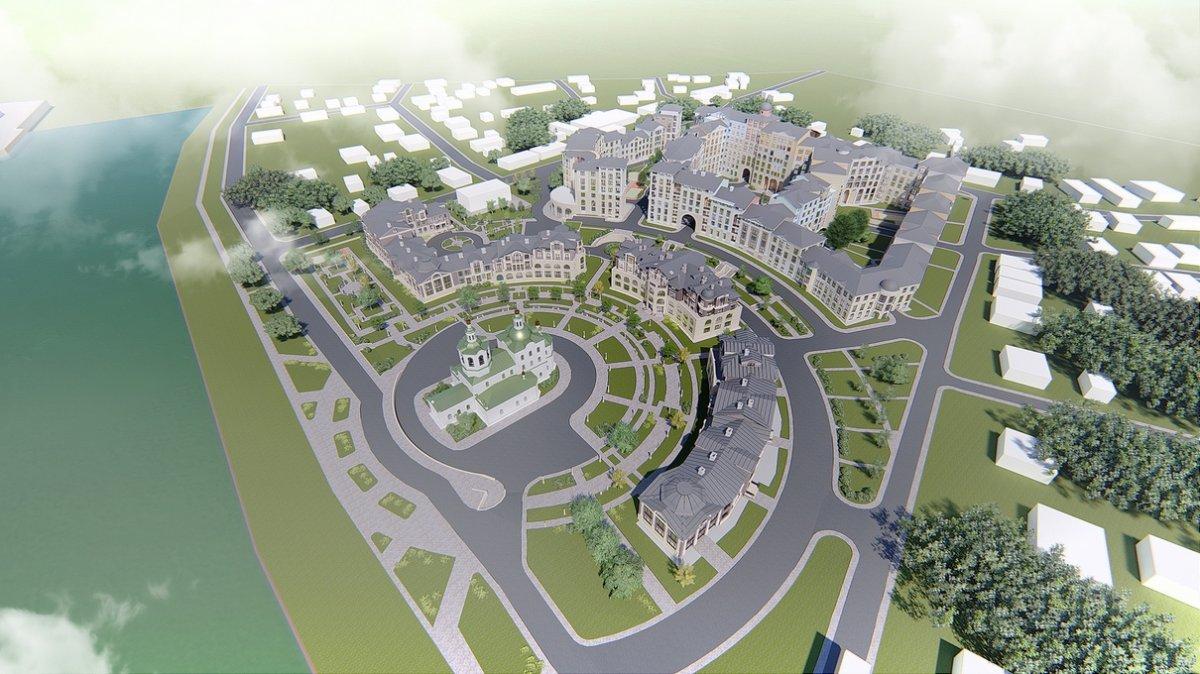Проект жилого квартала «Вознесенский»