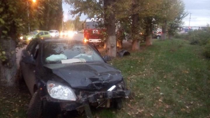 Массовая авария в центре Салавата: есть пострадавшая