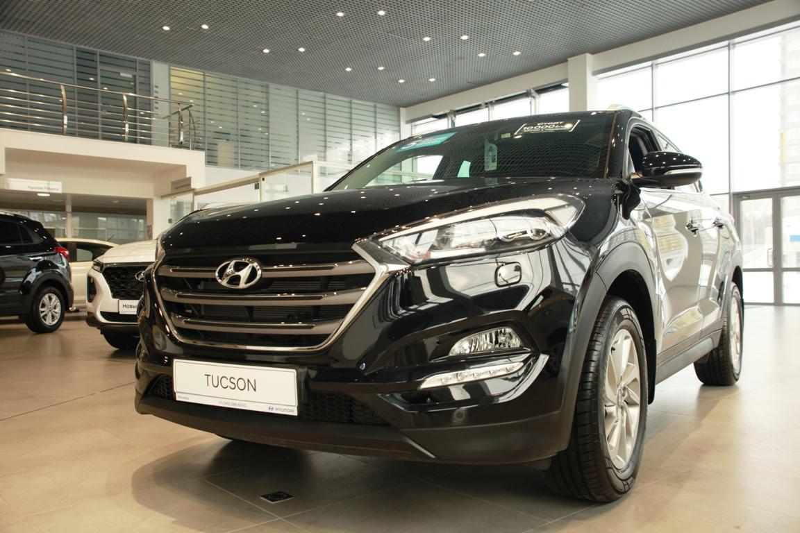 Hyundai Tucson в «Регинас»: в наличии от 1 404 000 руб. Кредит от 0,1% или от 10 000 руб./мес.