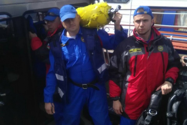 Поисками пропавшего занимались водолазы поисково-спасательной службы Самарской области