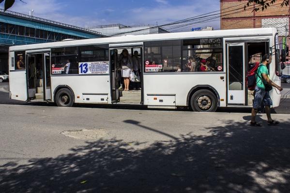 Мальчик не запомнил госномер автобуса, из которого его высадили