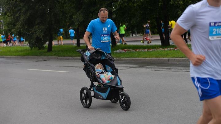 В Екатеринбурге малыши пробегут 295 метров во время марафона «Европа — Азия»