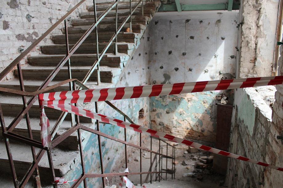 По лестницам ходить опасно