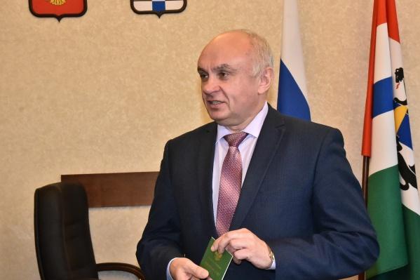 Александр Дубовицкий покинул пост вице-губернатора по собственному желанию летом 2019 года