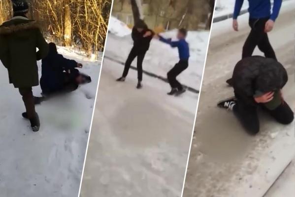 Видео с избиением детей попали в соцсети