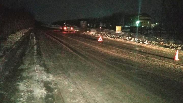 Перебегавший дорогу пешеход получил тяжёлые травмы в ДТП на Николая Грицюка