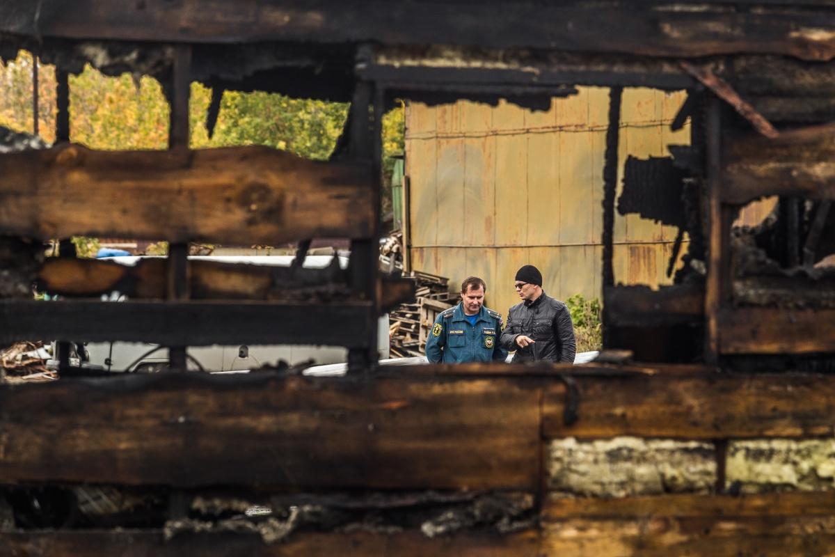 Причины пожара ещё не выяснили