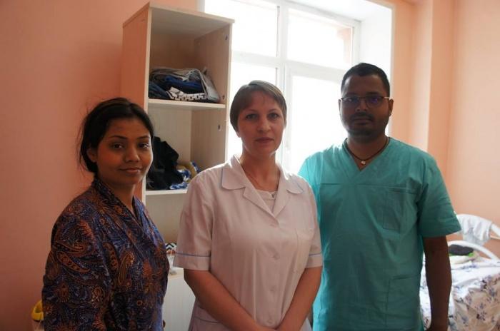 Пациенты из Индии в сороковой больнице
