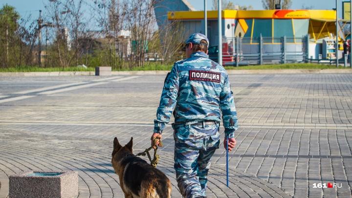 Житель Ростовской области натравил на полицейского собаку