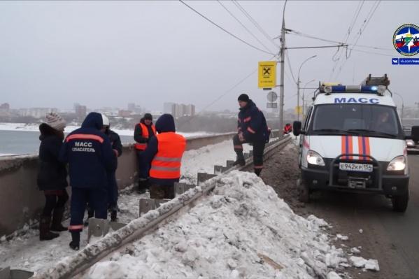 Спасатели приехали на место около 15:00