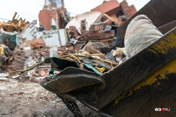 Чиновники зачищают Самару от незаконных построек
