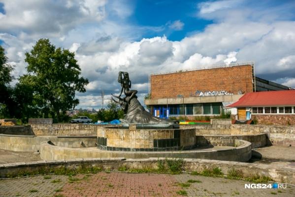 Старый фонтан с площади исчезнет