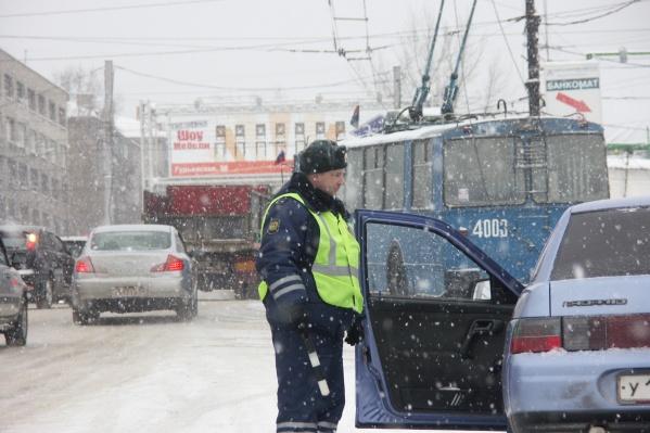 За три дня сотрудники ГИБДД задержали 123 пьяных водителя