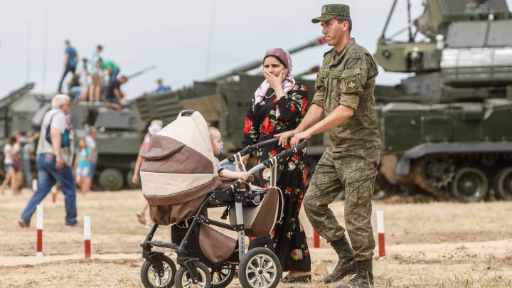 Военные купили 100 квартир в Волгоградской области