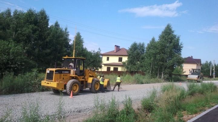«Никакого контроля»: после жалоб пермяков подрядчика заставят переделать ремонт дороги в Налимихе