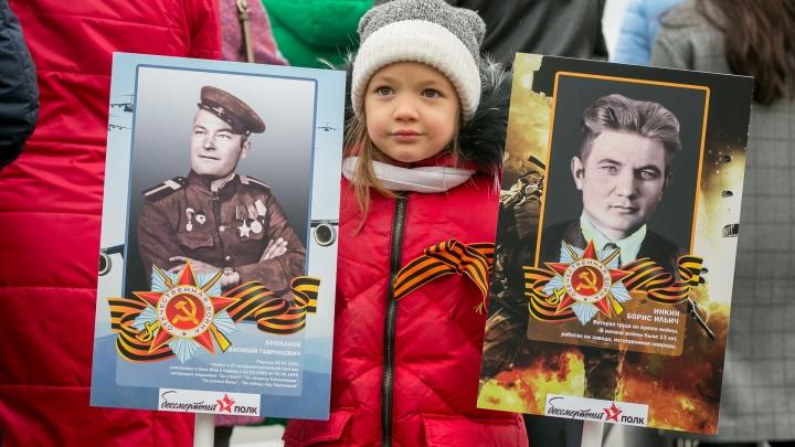 «Что-то очень настоящее, искреннее, щемящее»: завораживающие кадры с Дня Победы в Красноярске